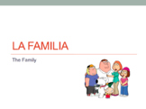 La Familia- Vocabulary PowerPoint