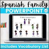 La Familia de Superheroes Spanish Family PowerPoint Lesson