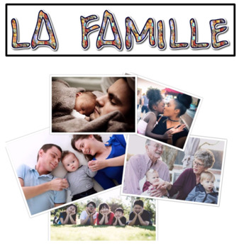 La Famille - French Family Writing Project