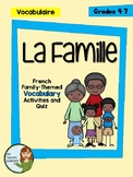 La Famille - Vocabulary Activities