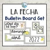 La Fecha Bulletin Board Set Lemon Farmhouse Theme