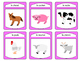La Ferme Spoons Card Game – Farm Animals Vocabulary in French