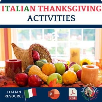 La Festa del Ringraziamento - Thanksgiving Day in Italian