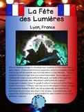 La Fête des Lumières French Cultural Activity France Ontario Curriculum