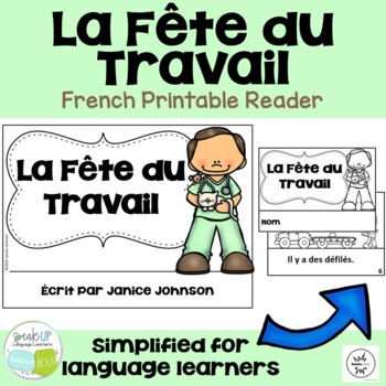 La Fête du Travail {en français} French Labor Day Reader & Cut/Paste