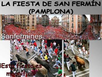 La Fiesta de San Fermin Game - La Corrida de Toros