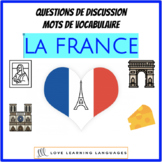 Advanced French conversation questions - La France