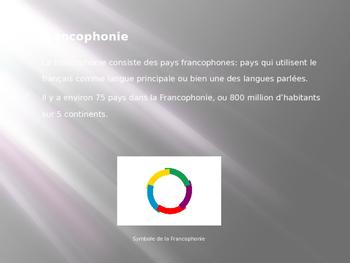 La Francophonie (DOM TOM)