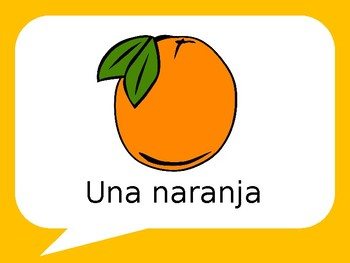 La Fruta / Fruit in Spanish