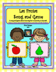 Las Frutas Song & Game + Posters - Spanish Fruit