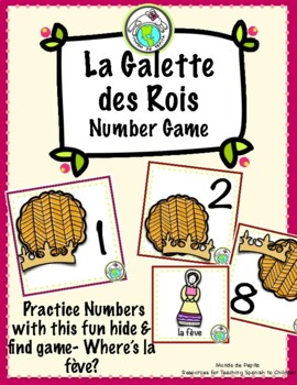 La Galette des Rois FRENCH Number Game for Three Kings Day