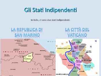 La Geografia Italiana