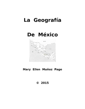 La Geografia de Mexico