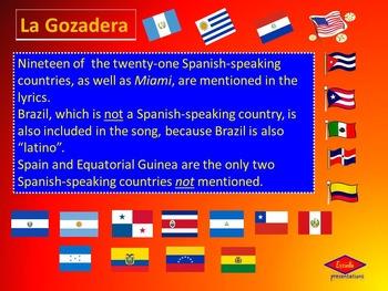 La Gozadera- lyrics explanation and geography lesson