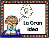 La Gran Idea- Main Idea game