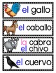 La Granja: A Writing Center and Word Wall Set in Spanish