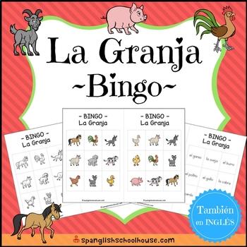 La Granja BINGO (Farm BINGO in Spanish)