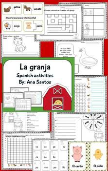 La Granja - Spanish Activities