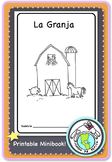 La Granja Farm Spanish Printable Minibook