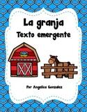 La Granja Texto Emergente (The farm emergent reader) SPANISH