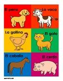 Los Animales de la Granja | Animals of the Farm in Spanish
