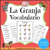 La Granja Vocabulario {Farm Vocabulary Pack in Spanish}