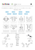 La Granja (the farm) song, worksheet, pictionary and flashcards
