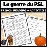 La Guerre du Pumpkin Spice Latte -  for intermediate/advan