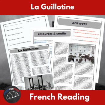 La Guillotine - Reading for French learners