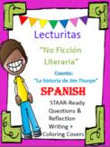 Lecturitas - Biografia -La Historia de Jim Thorpe - Spanish No Ficcion Literaria