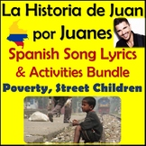 La Historia de Juan by Juanes - Spanish Song Lyrics & Activities Unit