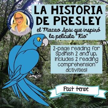 La Historia de Presley: El Macao Spix que inspiró la película Río