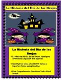 La Historia del Día de las Brujas-Spanish II/AP -Reading Comprehension/Preterite