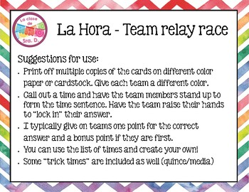 La Hora - Team Relay Race