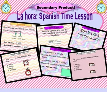 La Hora - Telling Time in Spanish