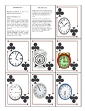 La Hora/Time (a SPOONS and GO FISH  type game)