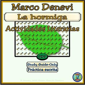 La Hormiga de Marco Denevi Study Guide Only - Guía de estudios literarios