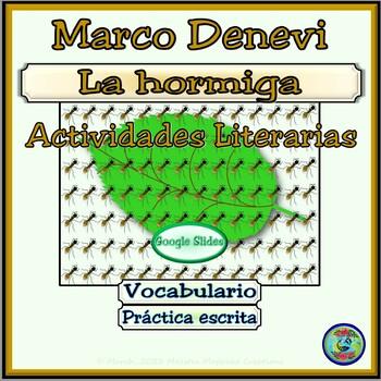 La Hormiga de Marco Denevi Powerpoint Images and Writing Activities