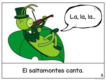 La Hormiga y el Saltamontes ~ Spanish Ant & the Grasshopper Fable Reader