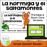 La Hormiga y el Saltamontes ~ Spanish Ant & the Grasshopper Fable Reader