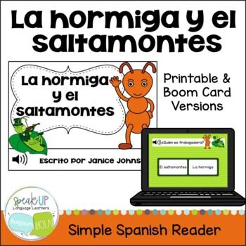 La Hormiga y el Saltamontes ~ Spanish Ant & the Grasshoppe