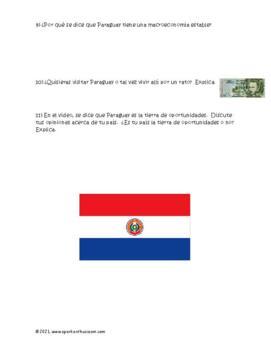 La Identidad de Paraguay Spanish Video Activity