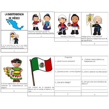 La Independencia de México/ Mexico's Independence Day Flip Book