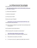 La Influencia de Tecnologia-Reading and Listening Assessment