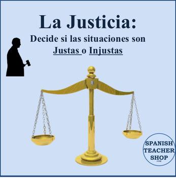 La Justicia: Es Justo o Injusto