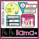 La La Llama Classroom Decor Brights