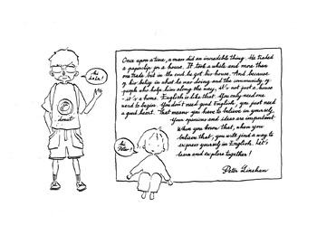 La La's Story, A Believe English Learner's Journey