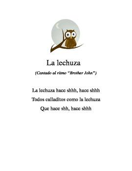 La Lechuza Lyrics