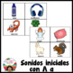 Letra A (Las Vocales) - Spanish Flashcards for the Letter A