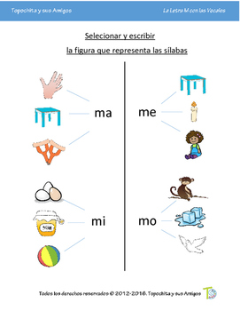 La Letra M y las Vocales (The Letter M and the Vowels)